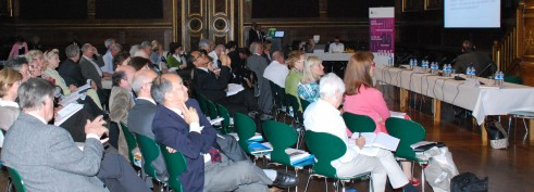 Konferensdeltagare på Bioetikmötet